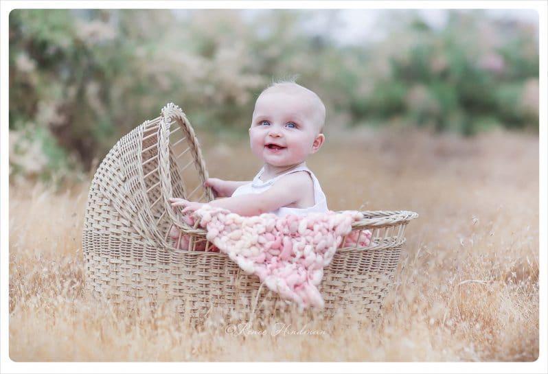 San diego baby portraits