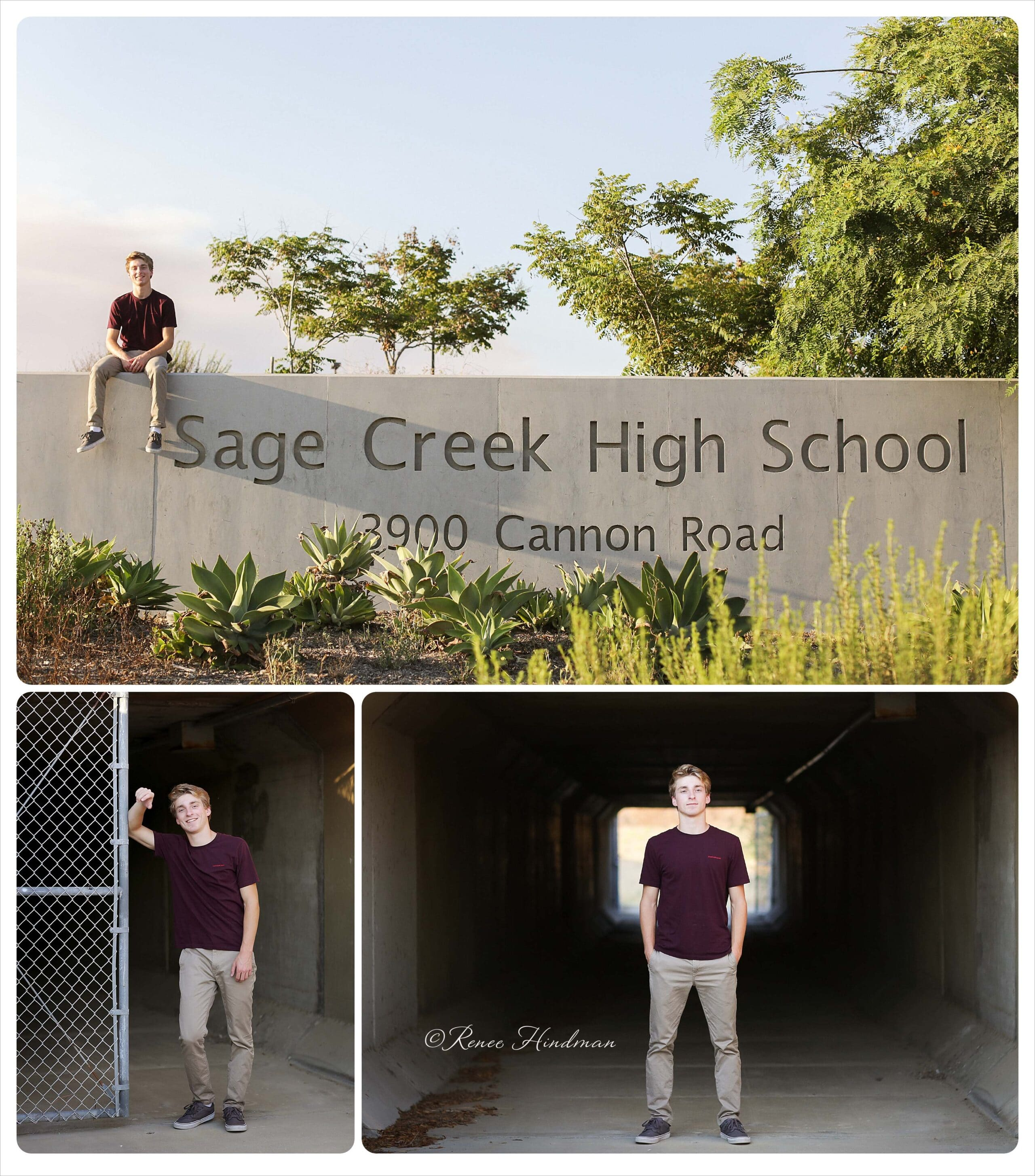 Sage Creek High School senior photographer